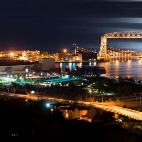 Duluth's Aerial Lift Bridge