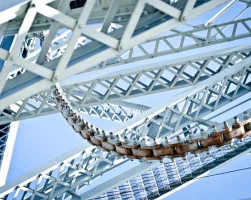 Duluth's Aerial Lift Bridge Close-Up