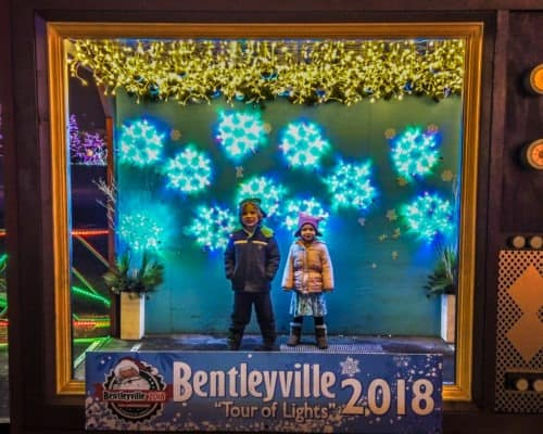Photo Op Stations at Bentleyville