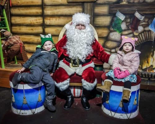 Santa Claus at Bentleyville