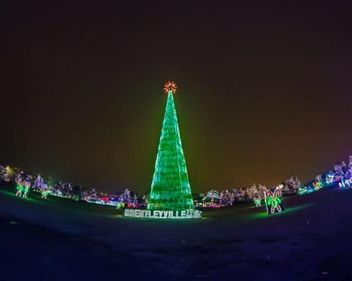The Bentleyville Tour of Lights Tree
