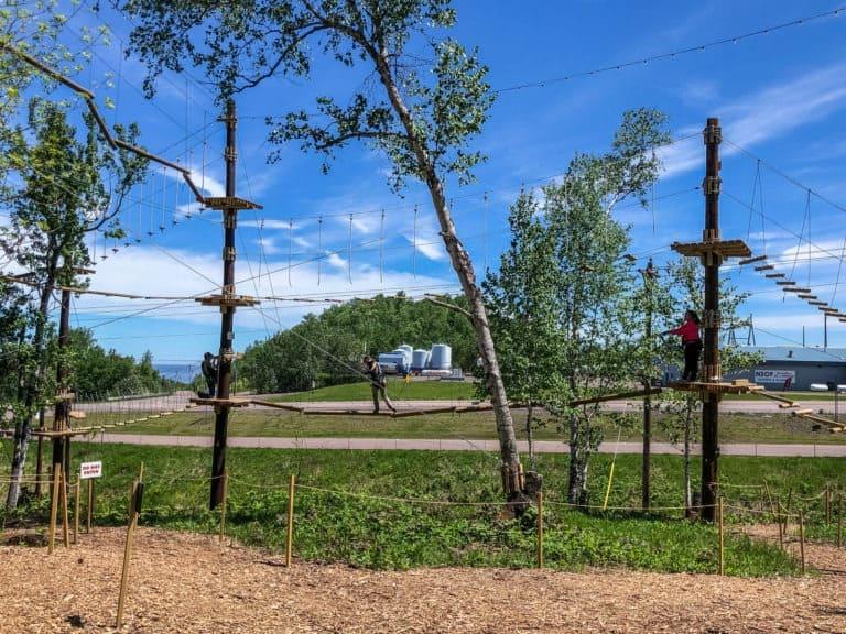 North Shore Adventure Park Trail