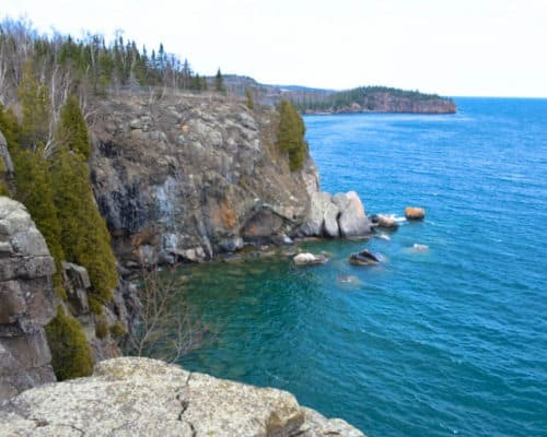 Split Rock Lighthouse State Park Cliffs