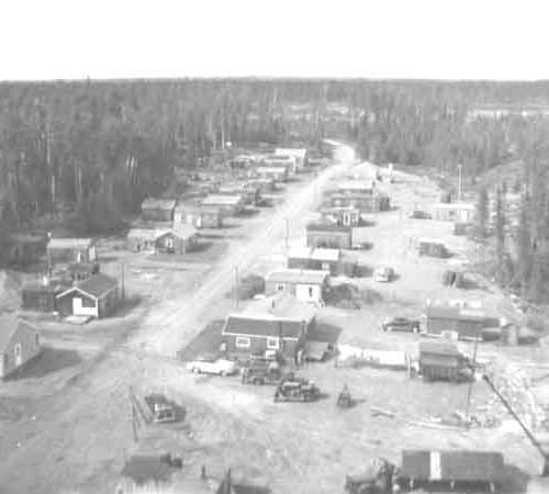 Ghost Towns Forest Center