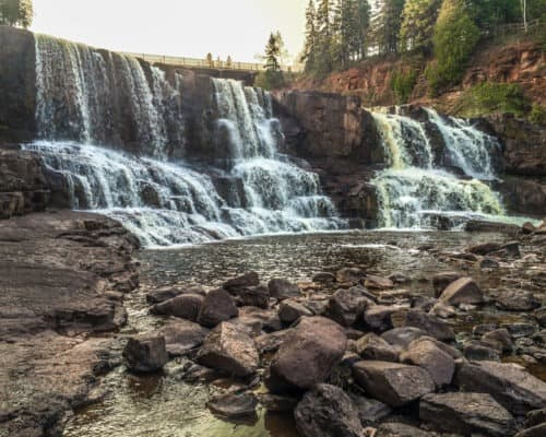 Lower Falls at Gooseberry Falls State Park