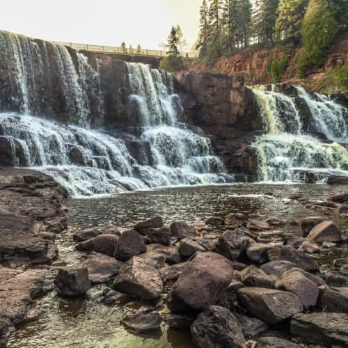 Lower Falls at Gooseberry Falls State Park