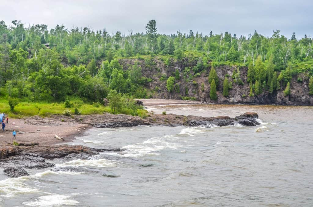 Agate Beach at Gooseberry Falls State Park