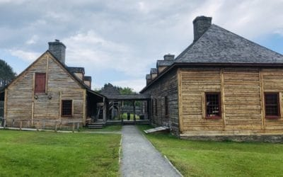 Main Hall and Kitchen at Grand Portage National Monument