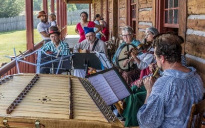 Live Music at Rendezvous Days at the Grand Portage National Monument