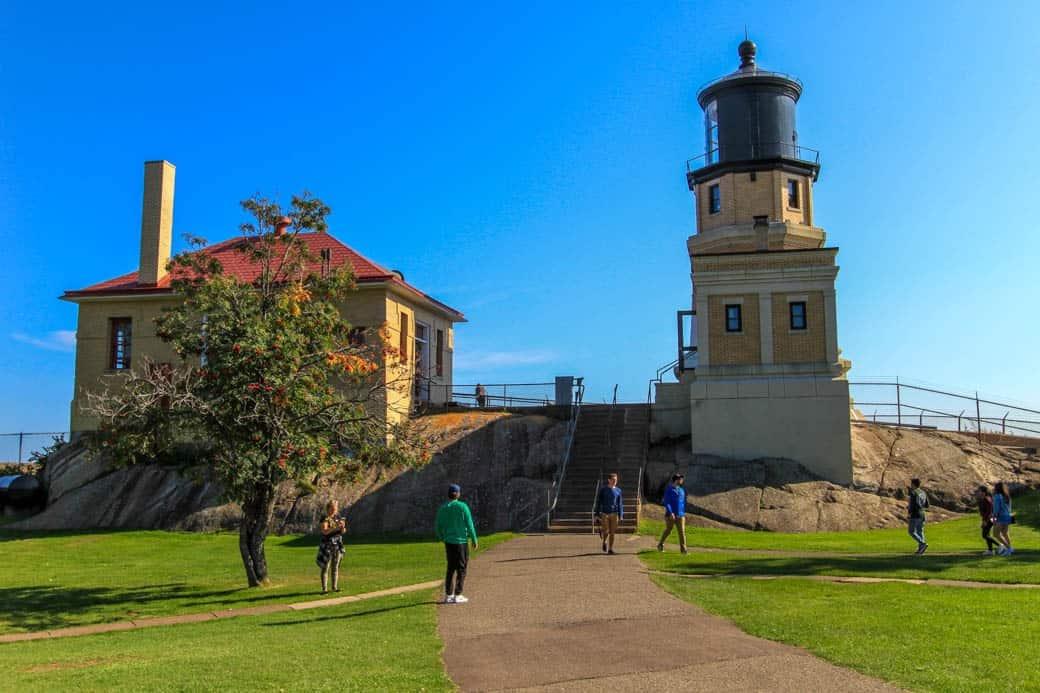 Split Rock Lighthouse State Park LIghthouse and Fog Building