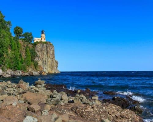 Split Rock Lighthouse State Park Summertime