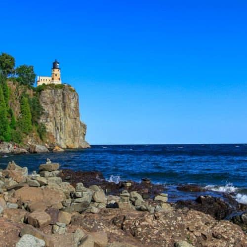 Split Rock Lighthouse in Summer