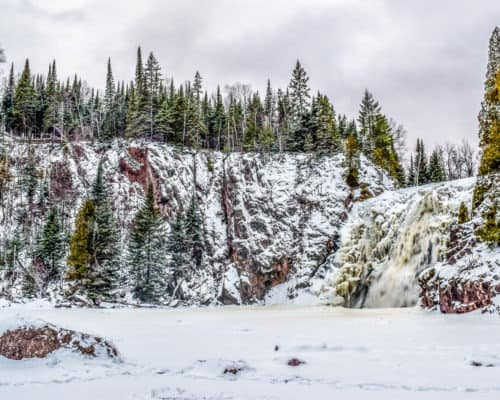 Tettegouche State Park in Winter