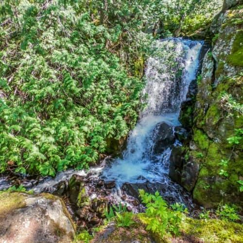 Rose Lake Waterfall BWCA