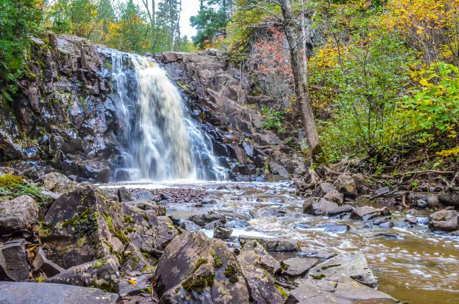 Split Rock Lighthouse State Park Waterfall