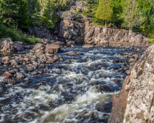 Small Rapids on Temperance River