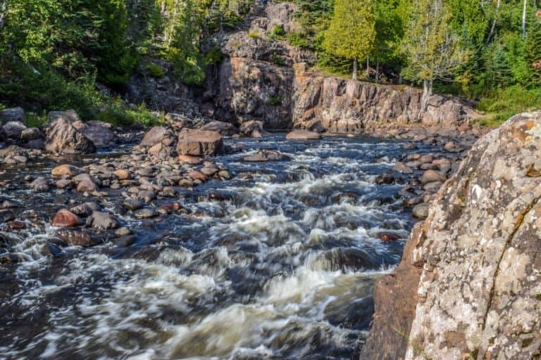 Small Rapids on Temperance River