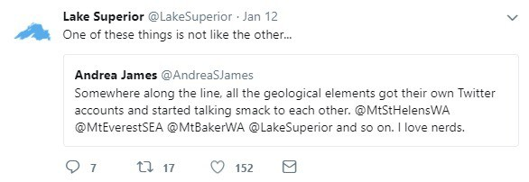 Lake Superior Battles on Twitter