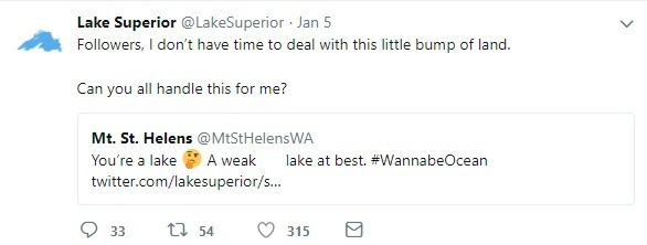 Lake Superior's Twitter Feed