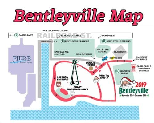 2019 Bentleyville Map