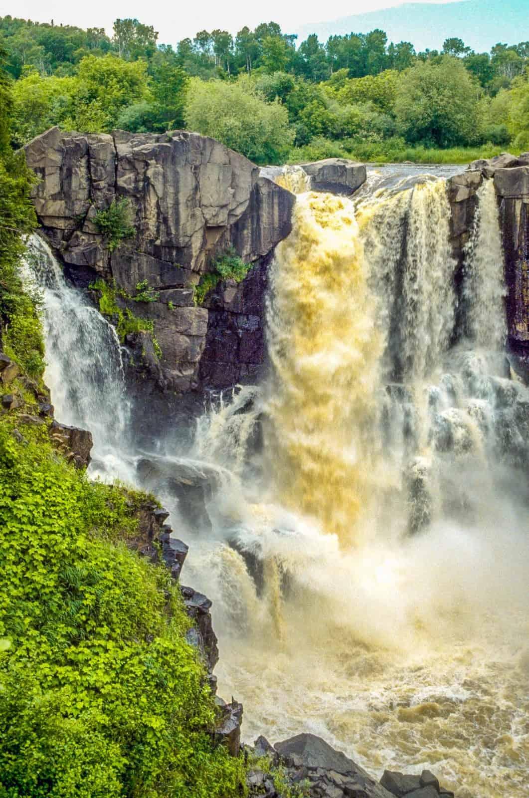 High Falls During Waterfall Season