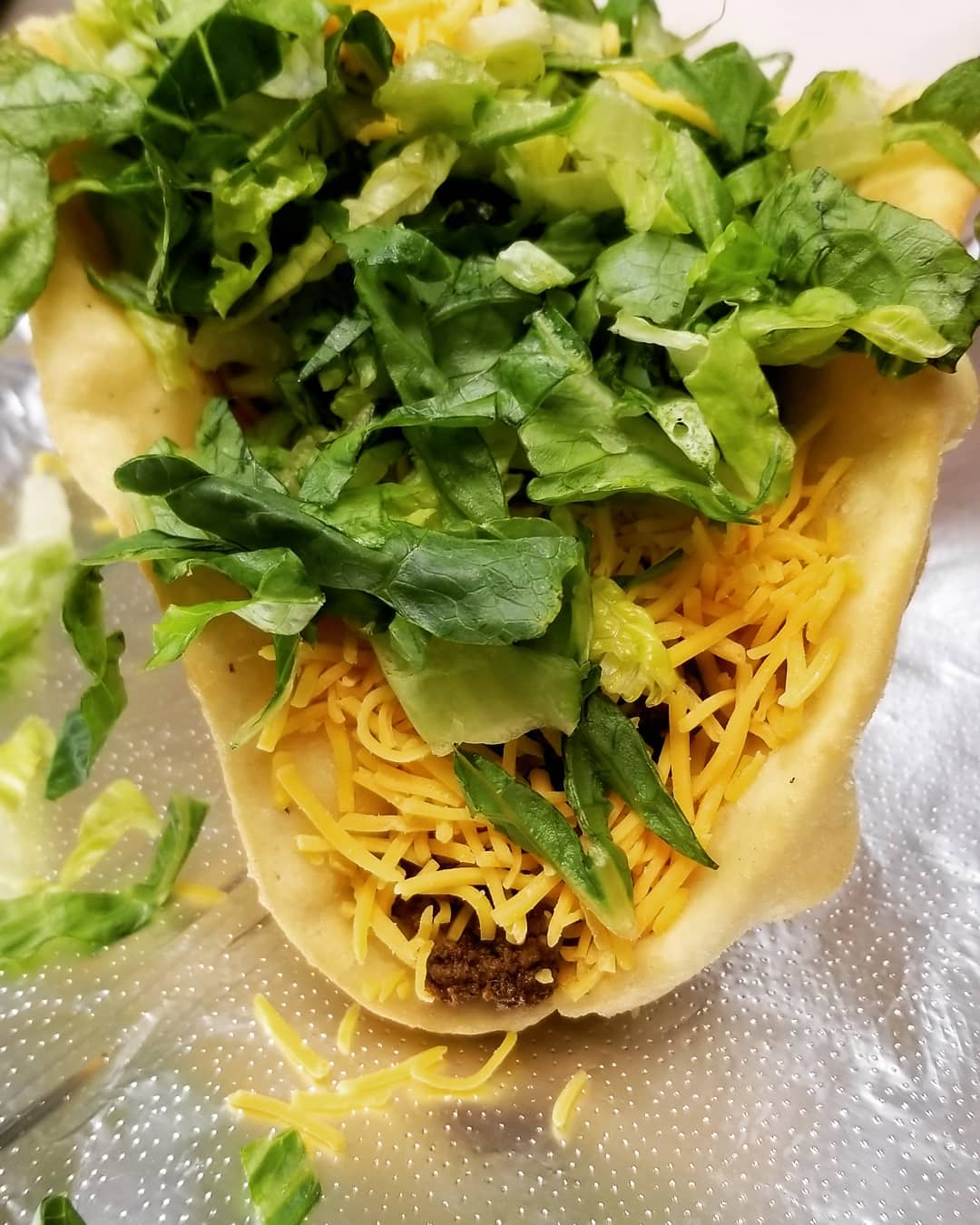 Hungry Hippie Tacos makes their fry bread for their fry bread tacos and fry bread desserts in house daily