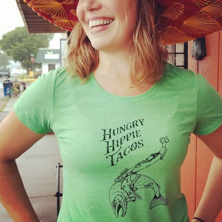 Hungry Hippie Tacos offers a wide variety of fun, unique clothing items in Grand Marais, Minnesota