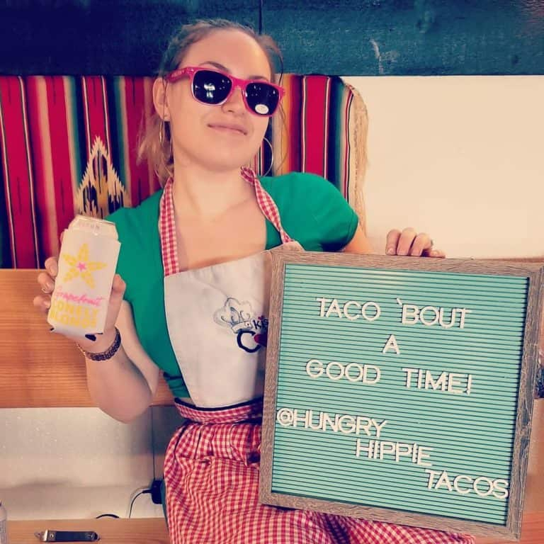 """Hungry Hippie Tacos """"Taco 'Bout A Good Time!"""" in Grand Marais, Minnesota"""