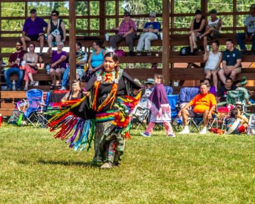 Dancer at Grand Portage Pow Wow