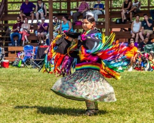 Grand Portage Pow Wow Dancer