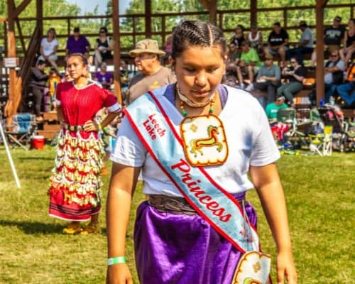Leech Lake Princess at Grand Portage Pow Wow