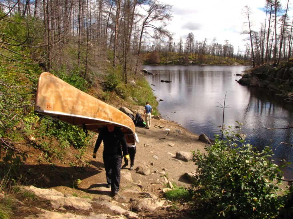 Boundary Waters Podcast Canoe Portage