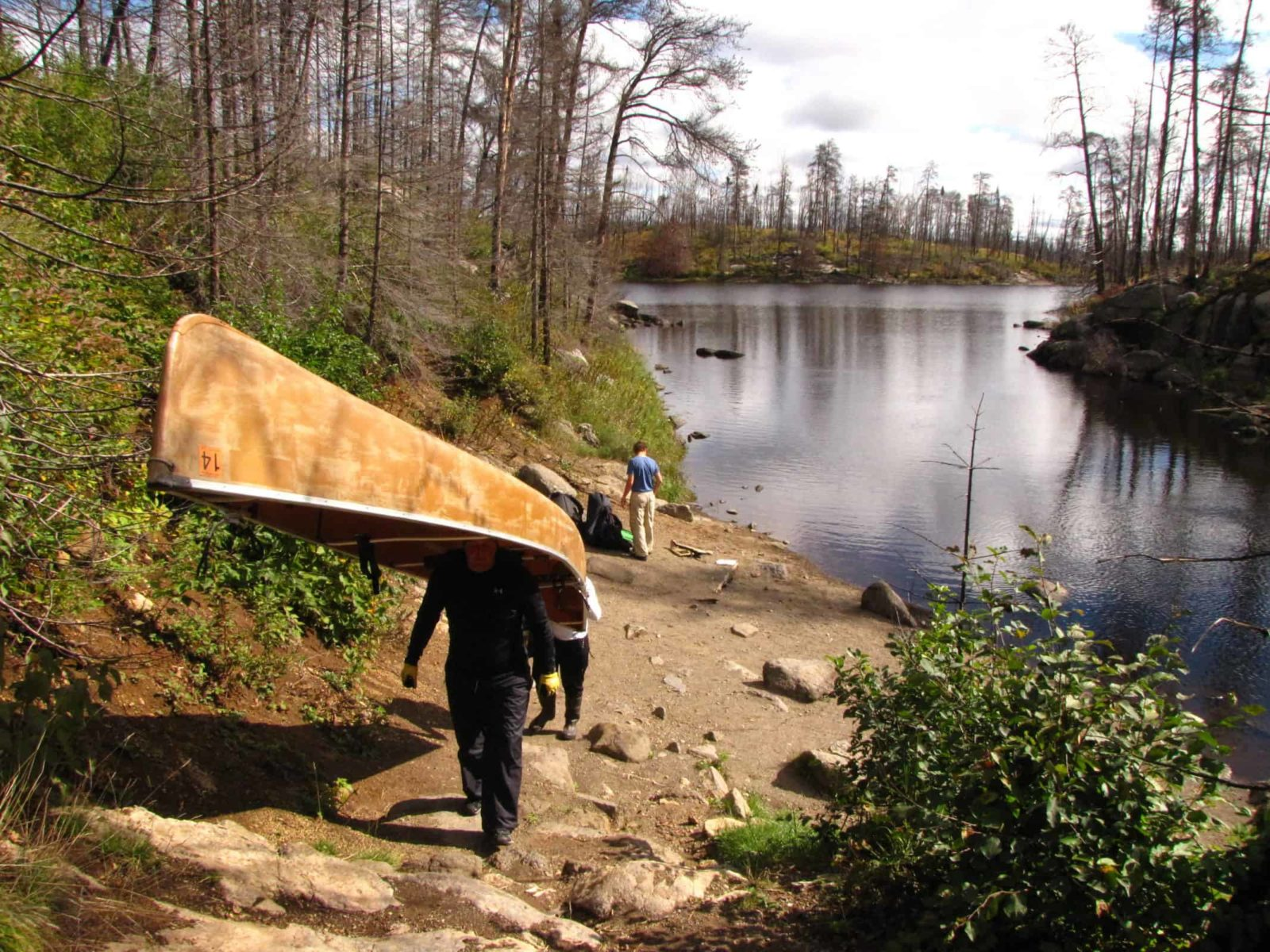 Boundary Waters Podcast Canoe Portage