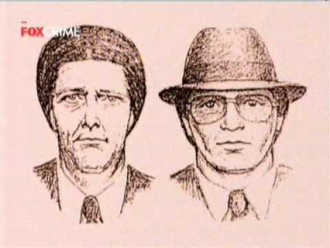Witness Sketch of the Trenchcoat Bank Robbers