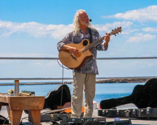 Live Music during Fisherman's Picnic in the Grand Marais Harbor Park