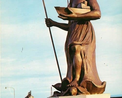 Standing Tall and Proud the King of Neptune Celebrate Duluth's Status