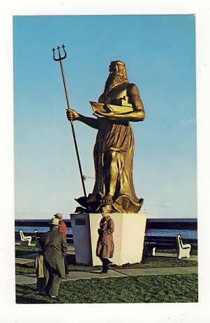 The King of Neptune Statue