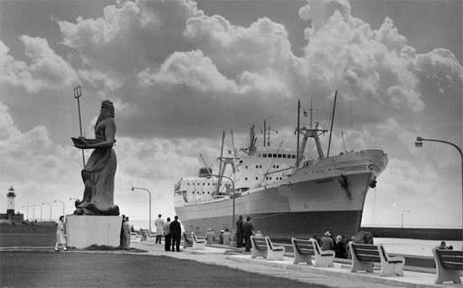 The King of Neptune in Canal Park
