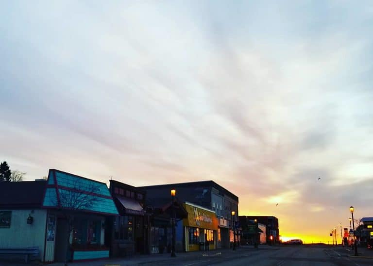 Downtown Grand Marais Photo by Kelsey Kennedy