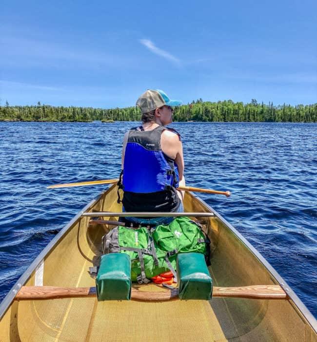 Paddling Around Sawbill Lake