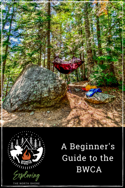 A Beginner's Guide to the BWCA Pinterest Images