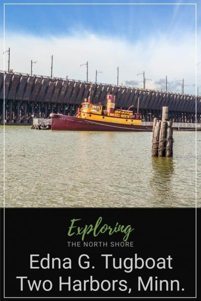 Edna G. Tugboat in Two Harbors Pinterest Easy Pin