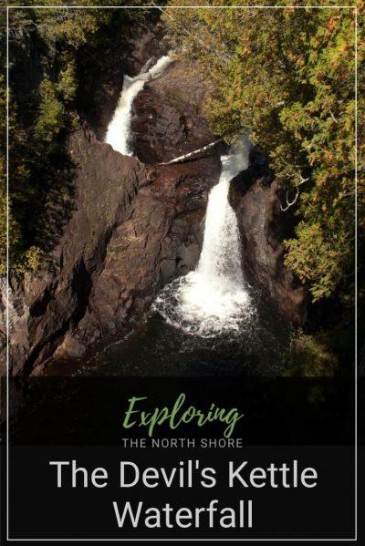 Devil's Kettle Waterfall Pinterest Easy Pin
