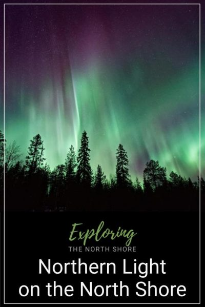 Northern Lights on Minnesota's North Shore Pinterest Easy Pin
